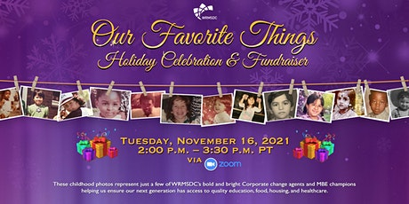 WRMSDC Holiday Celebration & Fundraiser: Our Favorite Things tickets