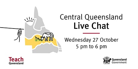 Teach Queensland Live Chat: Teach in Mackay and surrounds tickets
