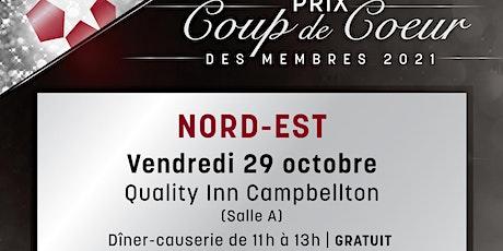 Prix Coup de cœur du Nord-Est (Virtuel) billets