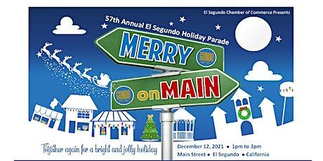 57th Annual El Segundo Holiday Parade tickets