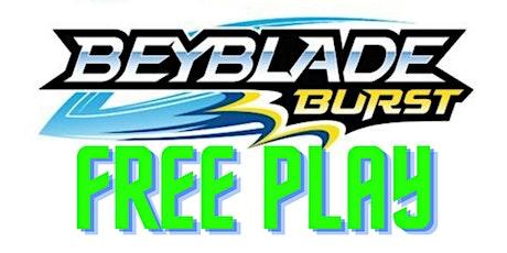 Beyblade Burst Free Play tickets