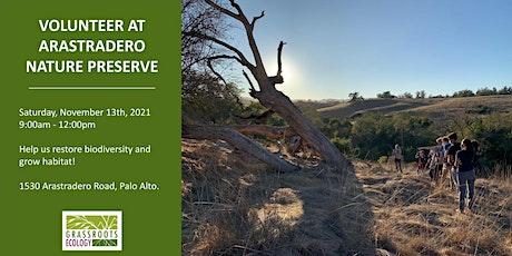Volunteer Outdoors in Palo Alto at Arastradero Preserve tickets