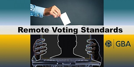Voting Working Group – Remote Voting Standards Meeting tickets