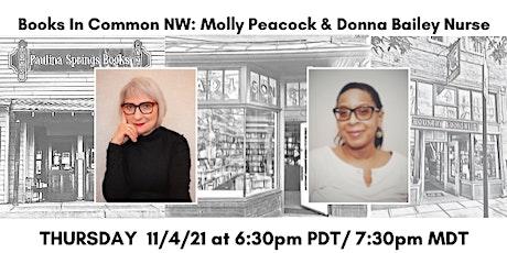 Books in Common NW: Molly Peacock & Donna Bailey Nurse tickets