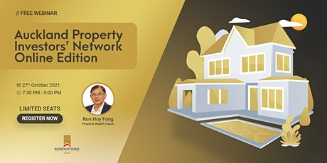 Auckland Property Investors Network - Online Edition tickets