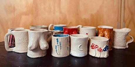 Monday Mug Making Workshop 06/12/21 tickets