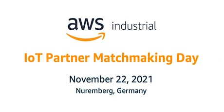 AWS IoT Partner Matchmaking Day - SPS Nuremberg Tickets