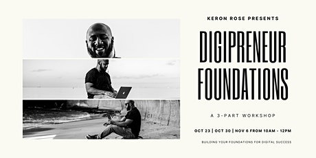 Build Your Website - Digipreneur Foundations Series tickets