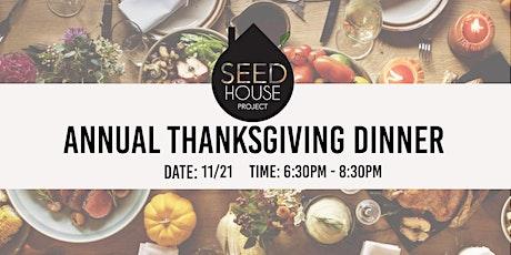 3rd Annual Thanksgiving Dinner tickets