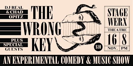 The Wrong Key: DJ REAL & Chad Opitz - Experimental Comedy & Music Show tickets