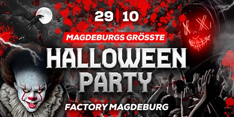MAGDEBURG´s GRÖßTE HALLOWEEN-PARTY Tickets