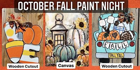 October Fall Paint Night tickets