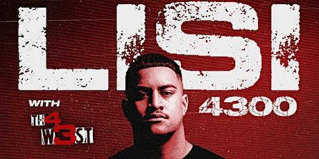 LISI + TH4 W3ST (Christchurch) tickets