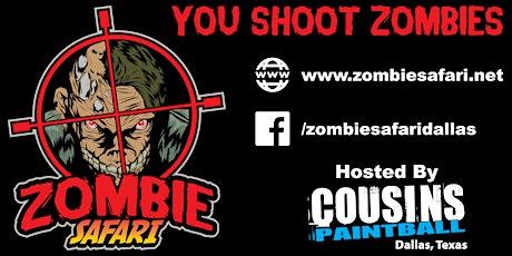 Zombie Safari Dallas - Christmas Edition Zombie Hunt- Dec 17th 2021 tickets