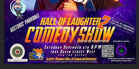 Parkdale Hall of Laughter 2 tickets