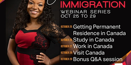 Canadian Immigration Webinar Series tickets