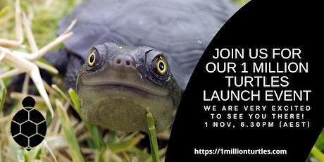 1 Million Turtles Program Launch tickets