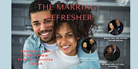 Marriage Refresher tickets