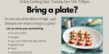 'Bring a Plate ' Cooking Class tickets