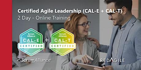 CERTIFIED AGILE LEADERSHIP (CAL E+T) 16-17 NOV Australian Course Online tickets