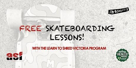 FREE Beginner Skateboarding Lessons at Diamond Creek Skatepark tickets