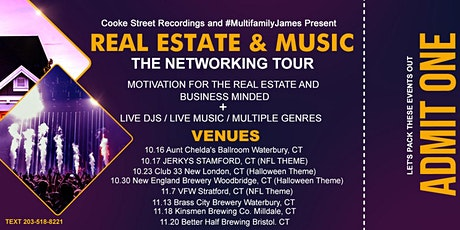 Real Estate & Music: The Ultimate Networking Event tickets