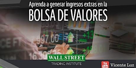 Miami! Aprenda a generar riqueza en la Bolsa de Valores boletos