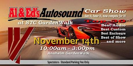 """Al & Eds Auto Sound """"The Rewind 2"""" Car Show @ Anaheim GardenWalk tickets"""