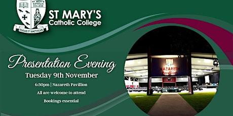 St Mary's Catholic College Presentation Evening 2021 tickets
