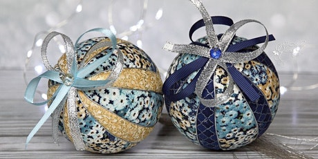DIY Christmas Ornament Kimekomi Workshop tickets