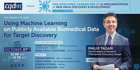 The Evolving Landscape of AI Implementation in New Drug Discovery&Develop. tickets