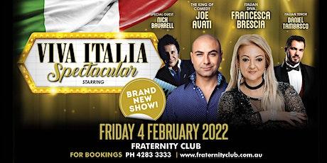 Viva Italia Spectacular tickets