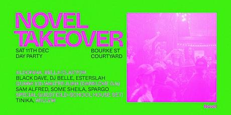 Novel Takeover - Bourke Street Courtyard tickets