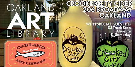 Copy of Oakland Art Library September Event @ Crooked City Cider tickets