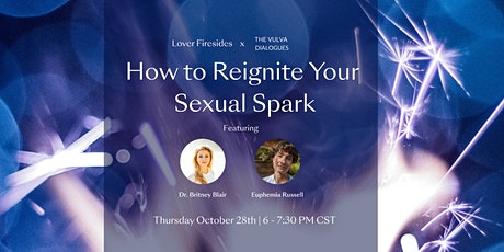 Lover Firesides: How to Reignite Your Sexual Spark tickets