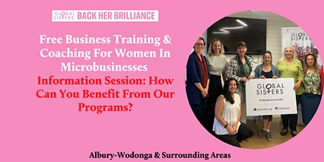 Information Session: Free Business Training & Coaching tickets