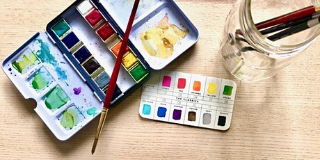 Watercolor with Sanjana: October 2021 tickets