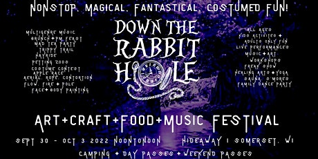 DOWN THE RABBIT HOLE 2022 tickets