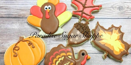 Cookie Decorating Class - Fall/Thanksgiving Theme FREE DRINK! tickets