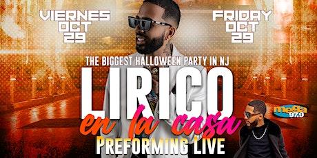 LIRICO EN LA CASA  PERFORMANCE LIVE AT FARAONES NIGHTCLUB tickets