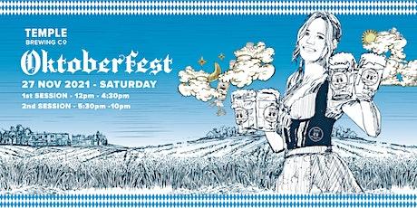 Oktoberfest 2021 @ Temple Brewing Co. tickets