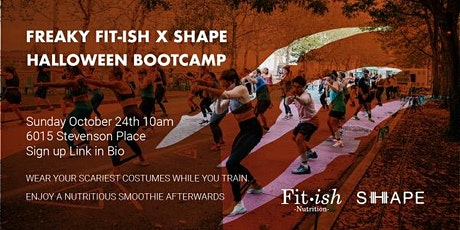 Freaky Fit•ish x SHAPE Halloween bootcamp tickets
