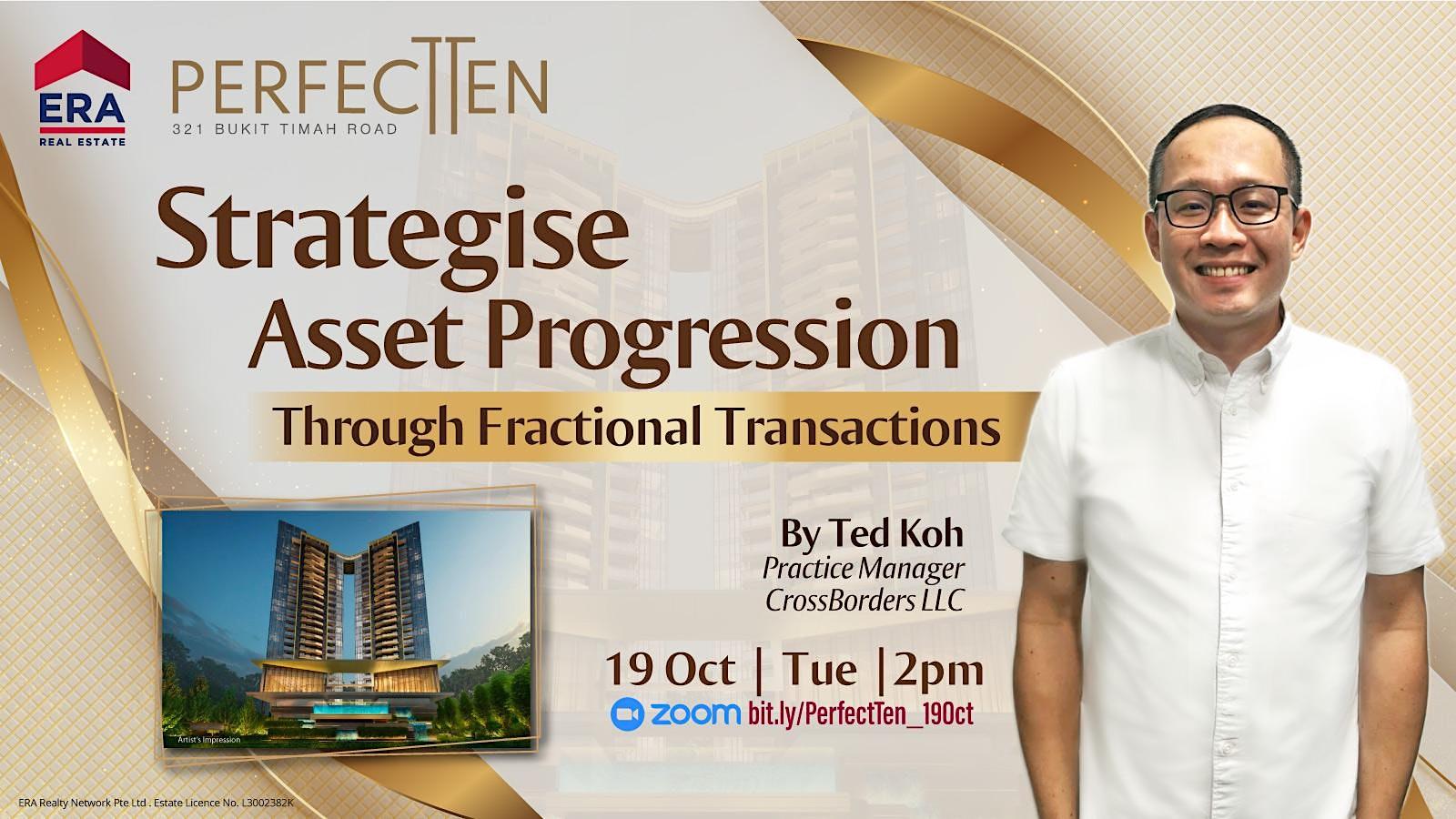 Strategise Asset Progression Through Fractional Transactions