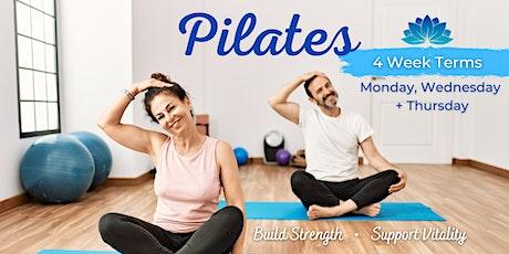 Pilates 4 Week Term: Monday, Wednesday or Thursday tickets