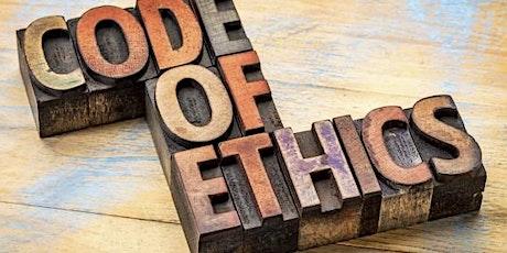 CFA candidate Ethics Workshop, standards 3-4 tickets