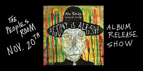 Abe Partridge - Live in the UK : Agony is Alright - Album release show tickets