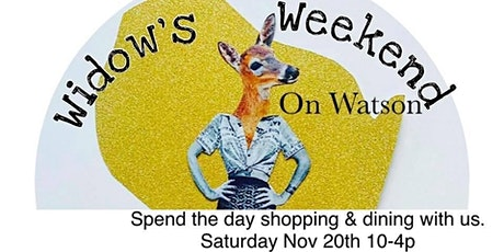 Deer Hunters Widows Weekend tickets