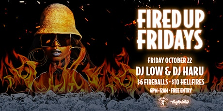 FIRED UP FRIDAY - HIP HOP / RNB tickets