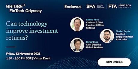 Can technology improve investment returns (Virtual webinar) tickets