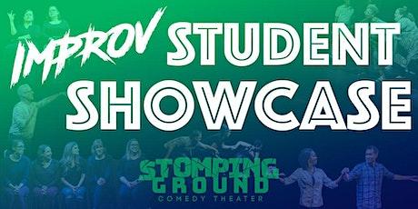 Improv & Musical Improv Student Showcase tickets